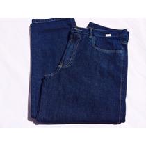Calças Jeans Masculino Tradicional Tamanhos Grandes 48 Ao 56