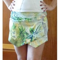 Short/saia Estampado, Tamanho P