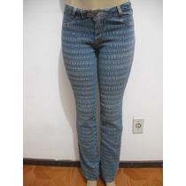Calça Jeans Com Elástico Sawary Tam 42 Bom Estado