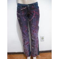 Calça Jeans Tam 38 Customizada Ótimo Estado