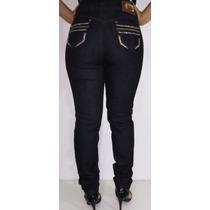 Claça Jeans Feminina Black Strass C Frete Gratis!!
