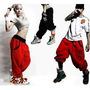 Calça Skinny Harem Saruel Hip Hop Unissex G - Pronta Entrega