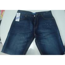 Calça Jeans Adidas Algodão Cos-médio Importado