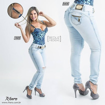 Calça Rhero Jeans, Original, Com Bojo Modelo Levanta Bumbum!