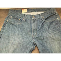 Levis Calça Jeans Modelo 514 W34 L34 Straight Fit - 5140381