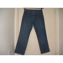 Linda Calça Jeans Risca De Giz Grife By And By - T- 34