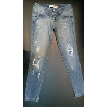 Calça Jeans Feminina Destroyer Da Civil Denim