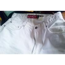 Calça Branca Jeans Camisa Zara Sport Usado Conjunto