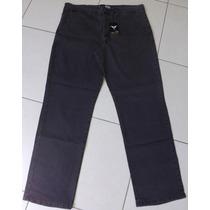Calça Jeans Masculina C/elastano Bolso Faca - Frilley
