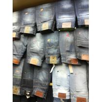 Calças Jeans Masculina Várias Marcas 10 Peças Lote