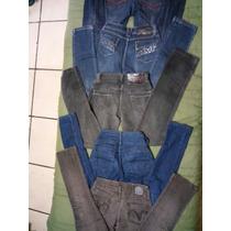 Lote 5 Calças Jeans Feminina Tamanho 34 A 38