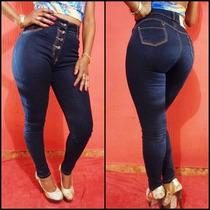Calça Jeans Legging Meitrix Levanta Bumbum-cintura Alta