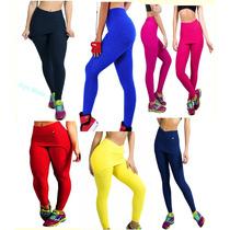 Kit 1 Short Saia + 1 Calça Legging-saia Tecido Bolha Fitness