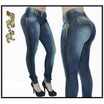 Calça Jeans Pit Bull Com Bojo Removível Modela Bumbum