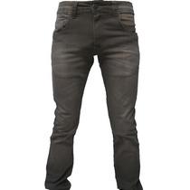 Calça Jeans Skinny Tecido Ecológico Com Elastano