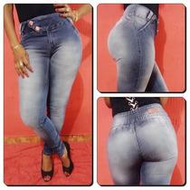 Calça Jeans Legging Thomix- Levanta Bumbum- Cintura Média