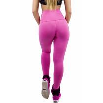 Kit Com 05 Legging Suplex Fitness/academia Com Cintura Alta