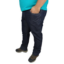Calça Jeans C/ Lycra Masculina Plus Size Frete Grátis