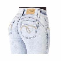 Calça Jeans Cintura Alta Hot Pants Sawary Jeans