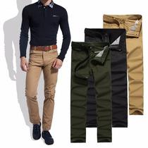 Calça Masculina Jeans Sarja Colorida Slin Fit Frete Grátis