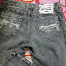 Calça Jeans Feminina Coca Cola