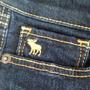 Calça Jeans Abercrombie Original Menina Tam 10 Tenho Tommy