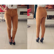 Calça Skinning Feminina Caramelo Última Moda Pronta Entrega