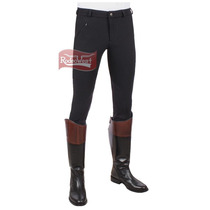 Culote Tuff Rider Unissex Preto - Country Low Rise