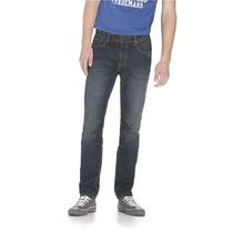 Aeropostale Mens Skinny Rivington Escuras Lave Slim Fit Jean