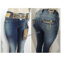 Calça Afront Jeans Estilo Pitbull Tamanho 34