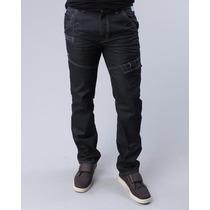 Calca Masculina Ecko Unltd Jeans Escuro Ultima Moda Nos Eua