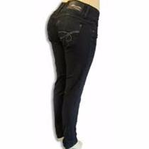 Calça Com Enchimento Sawary (modela Bumbum) Jeans Escuro