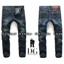 Calça Jeans Masculina Importada Dg 2015 - Grandes Marcas