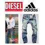 Calça Adidas Jeans Jogador Famoso Marca Famosa - Importada