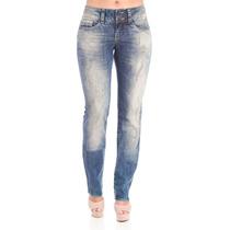 Calça Jeans Azul Claro 38 Slim Fit Denúncia