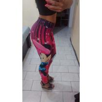 Calça Legging Estampa Mini Fitness Otima Qualidade