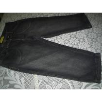 Calça Jeans Feminina Capri Tamanho 38