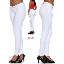 Calça Feminina Branca Temos Shorts Sawary Modela Bumbum 894
