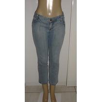 Calça Jeans Fem.marca Blue Steel Tam.44 C/ Strech Semi Nova