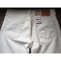 Levis Calça Jeans Modelo 513 Cru W34 L34 - 85130122