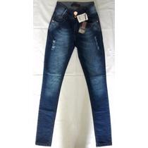 Calça Skinny Cintura Alta Feminina W. Pink Jeans