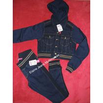 Calça Jeans Moleton Elástico