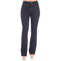 Calça Jeans Flare 38 Azul Escuro Denúncia Frete Grátis
