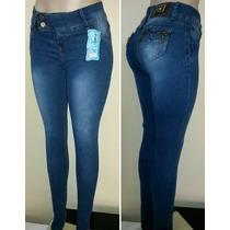 Calça Legue Jeans 2% Elastano Cintura Média.