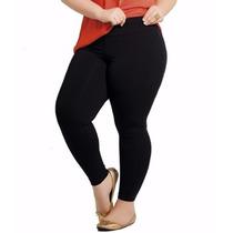 Calça Legging Térmica Plus Size Várias Cores Pronta Entrega