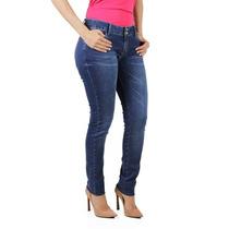Calça Jeans Com Pence Traseira Planet Girls
