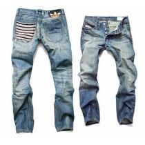 Calça Jeans Jogador Famoso Luxo Adidas Marca Famosa Importad