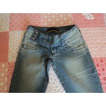 Calça Jeans Patogê Com Bordado No Bolso- Linda