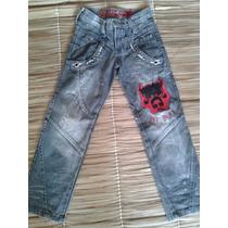 Calça Jeans Pitbull Infantil Novinha No Brechó Tamanho 28