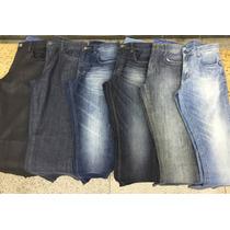 Kit Calças Jeans Atacado Masculino 5 Peças Variadas 36 Ao 52